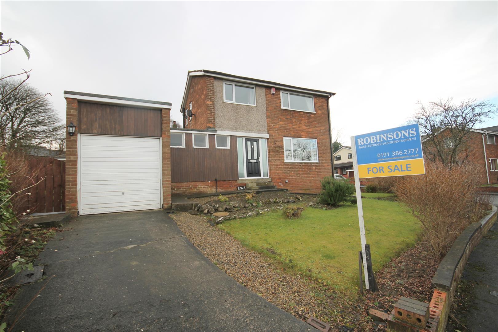 2 Bedrooms Semi Detached House for sale in Ashdown Avenue, Gilesgate, Durham